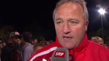 Video «Fussball: Schweizer Cup, Bernhard Pulver im Interview» abspielen