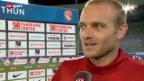 Video «Fussball: Stimmen zu Thun - Partizan» abspielen