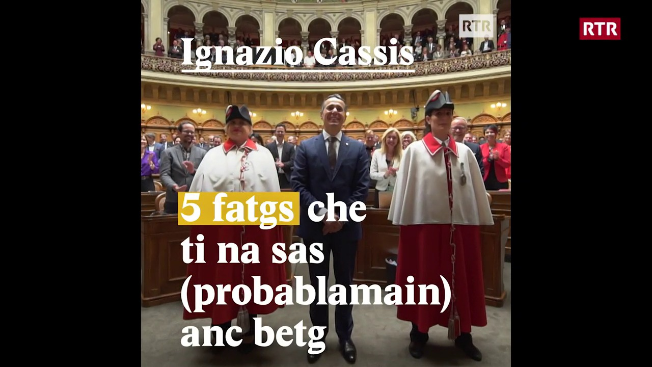 Ignazio Cassis - 5 fatgs nunenconuschents