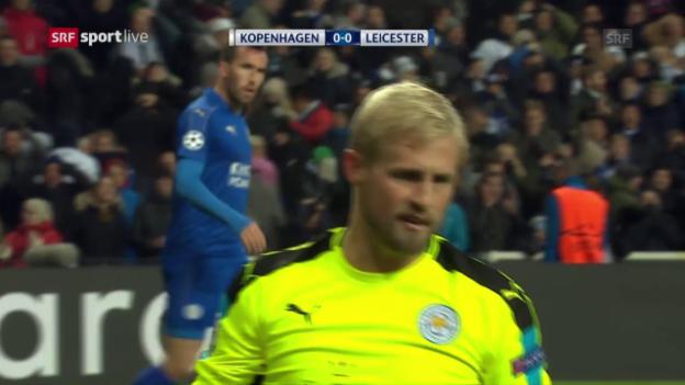 Video «Kopenhagen-Leicester gerät zur Nullnummer» abspielen