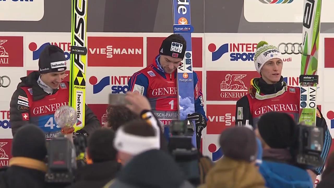 Skispringen: Zusammenfassung Neujahrsspringen Garmisch