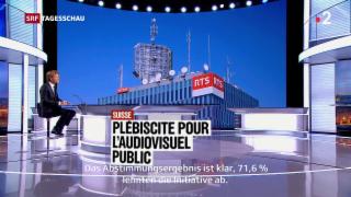 Video «Reaktionen auf «No Billag»-Initiative» abspielen