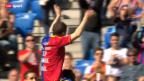 Video «Fussball: Abschiedsspiel von Alex Frei» abspielen
