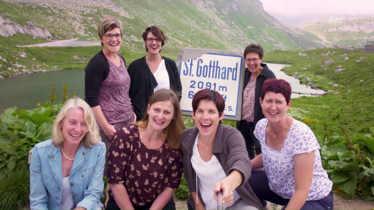 Die Gastgeberinnen der Landfrauenküche 2016