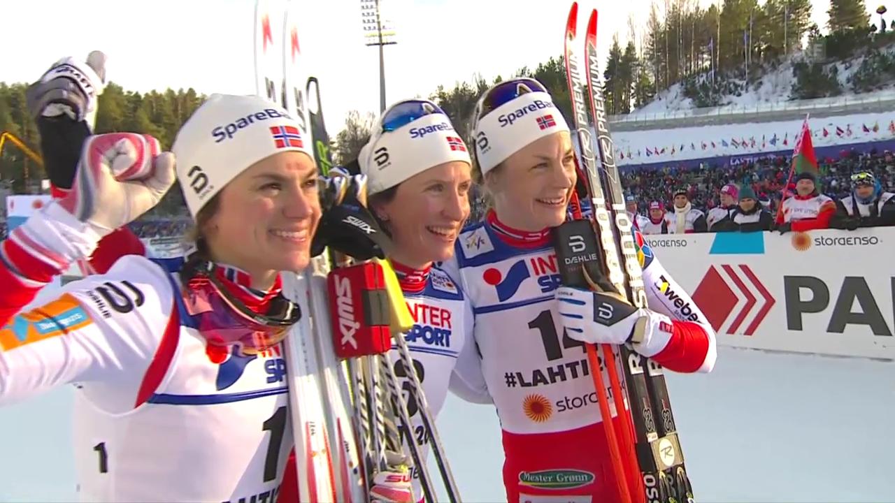 Vierfachsieg für Norwegen über 30 Kilometer
