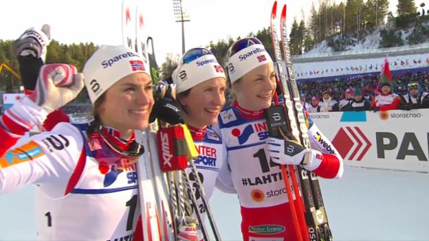 Video «Vierfachsieg für Norwegen über 30 Kilometer» abspielen