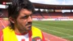 Video «SL: Sions Gattuso zum Spiel gegen GC» abspielen