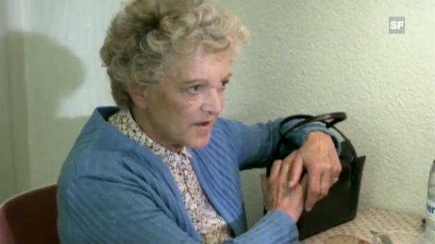 Video «Ausschnitt mit Stephanie Glaser aus «Leo Sonnyboy». Regie und Drehbuch: Rolf Lyssy.» abspielen