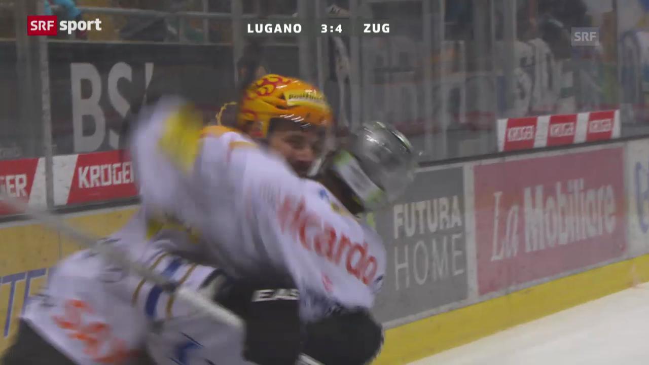 NLA: Zusammenfassung Lugano - Zug («sportaktuell»)