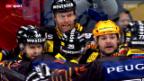 Video «Eishockey: Nach dem 2. Playoff-Finalspiel» abspielen