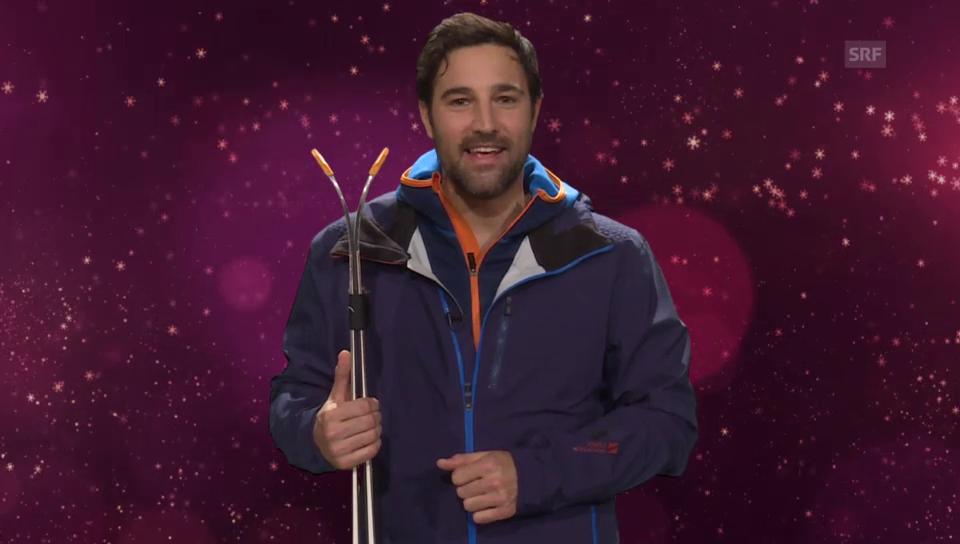 8. Dezember: Ein Skitag mit Salar Bahrampoori