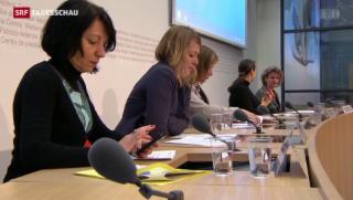 Video «Gegner der «Abtreibungs-Initiative» legen ihre Argumente dar» abspielen