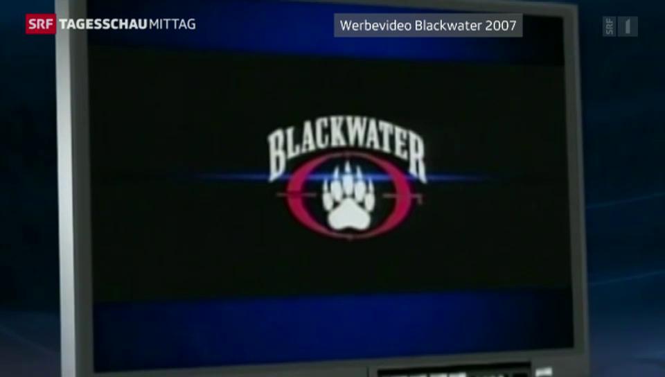 Haftstrafen für Blackwater-Söldner