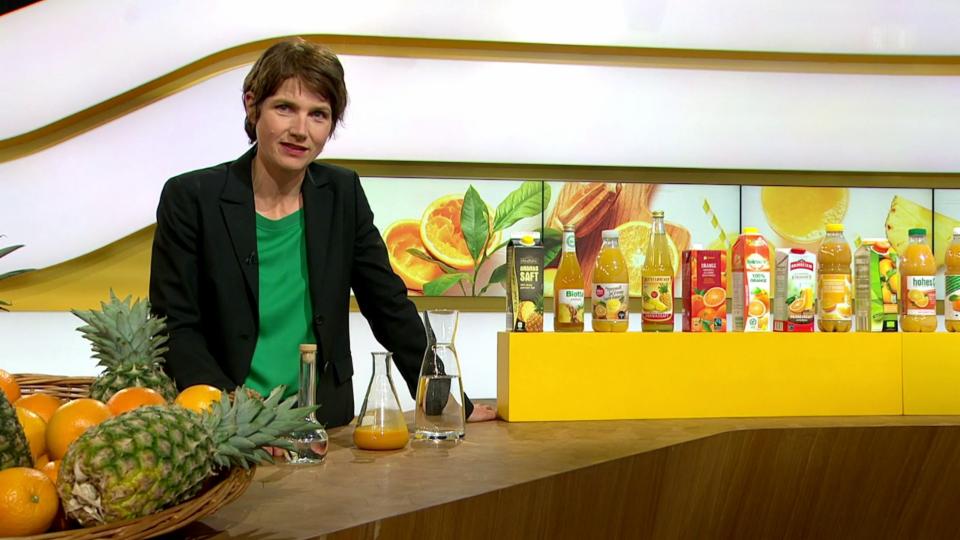 Saft ohne Geschmack – Der «Kassensturz»-Aromatest