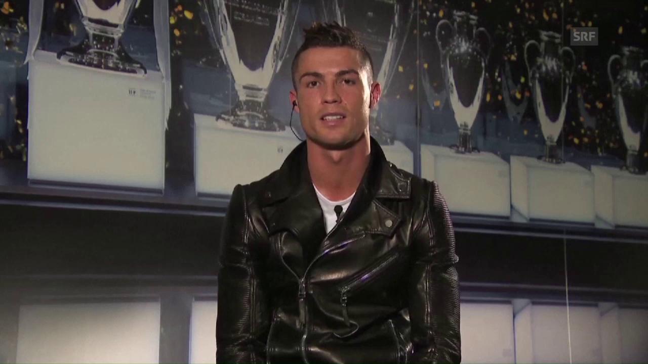 Ronaldo erneuert bei Ehrung Syrien-Appell