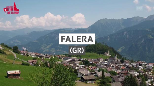 Video «Dorfporträt: Falera (GR)» abspielen
