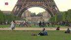 Video «Ungute Gefühle in Paris vor der EM» abspielen