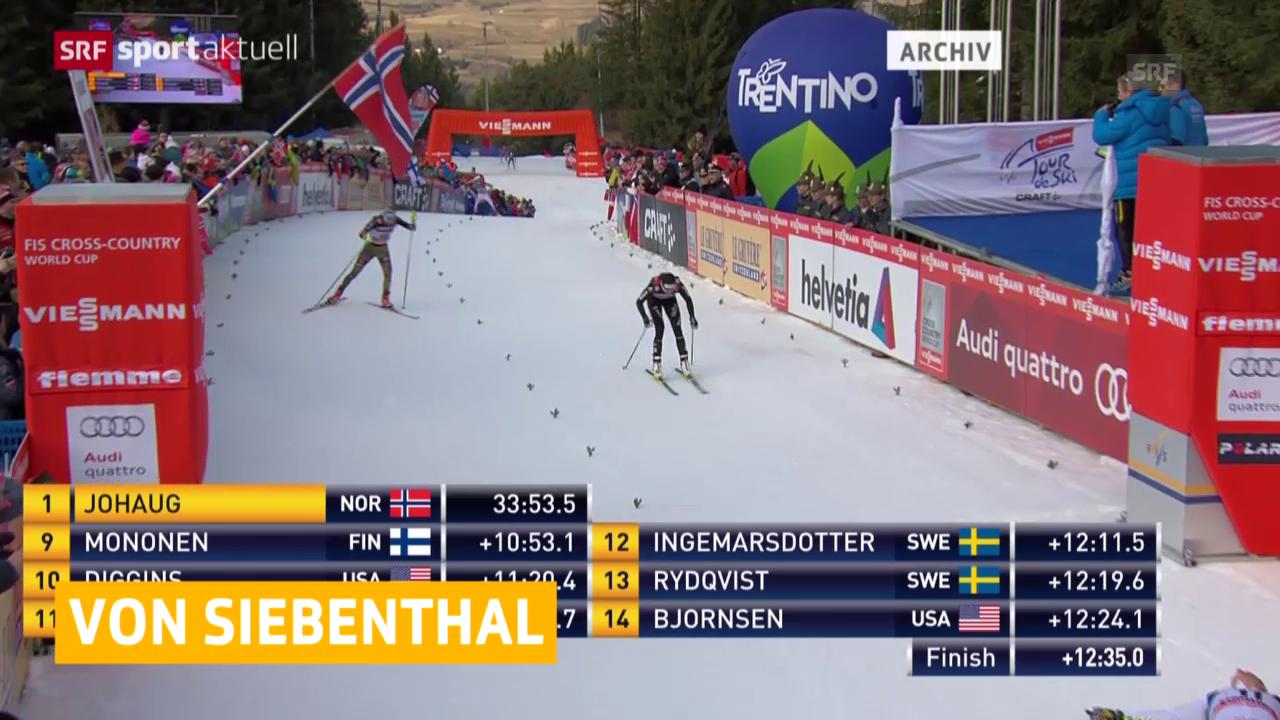 Nathalie von Siebenthal egalisiert ihr bestes Weltcup-Resultat