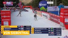 Video «Nathalie von Siebenthal egalisiert ihr bestes Weltcup-Resultat» abspielen