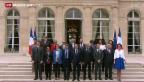 Video «Erste Sitzung der neuen Regierung Frankreichs» abspielen