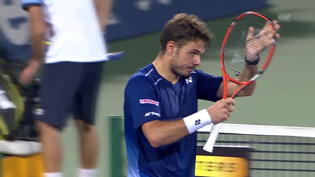 Tennis: Wawrinka - Troicki