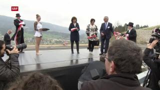 Video «Ein neues Stück Schweizer Autobahn» abspielen