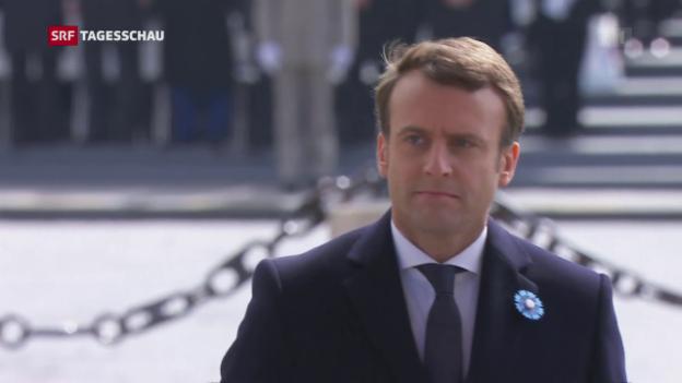 Video «Die Frankreich-Wahl am Tag danach» abspielen