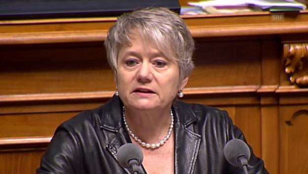 Video «SP-Nationalrätin Fehr zieht Vergleiche zum Apartheid-Regime» abspielen