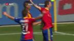 Video «Basel besiegt FCZ bei Frei-Abschied» abspielen