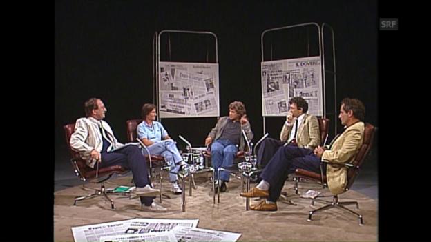 Video «Medienkritik vom 9.8.1984» abspielen