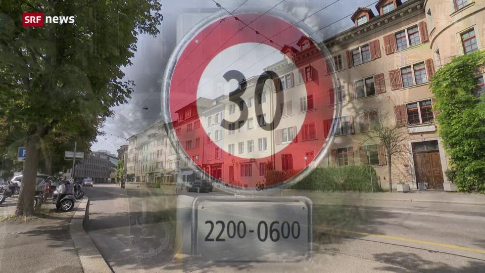 Schweizer Städte wollen Lärm mit Tempo 30 reduzieren