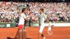 Video «Tennis: French Open, Djokovic - Nadal» abspielen