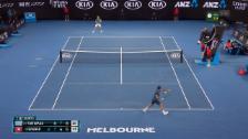 Link öffnet eine Lightbox. Video Die Live-Highlights bei Federer-Tsitsipas abspielen