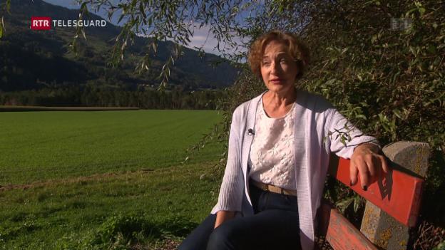 Laschar ir video «Cancer da sain - Rosita Huber-Mirer da Cazas»