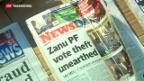 Video «Mugabe verkündet eigenen Wahlsieg» abspielen