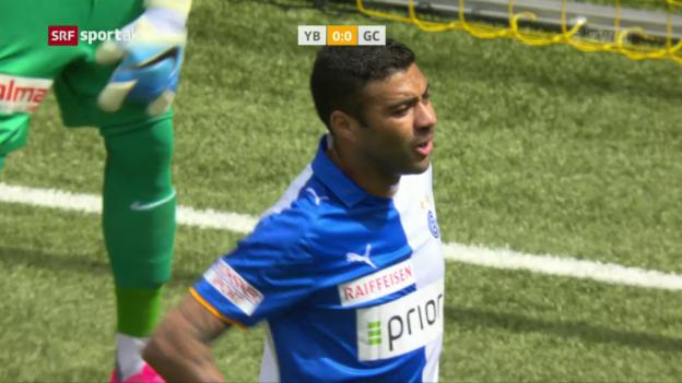 Video «GC düpiert YB im Stade de Suisse» abspielen