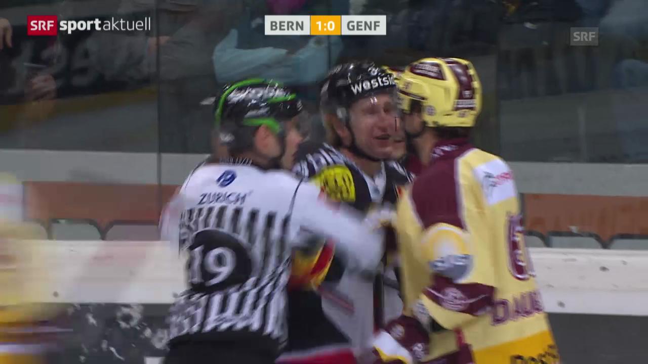 Eishockey: NLA, Bern - Genf-Servette («sportaktuell»)