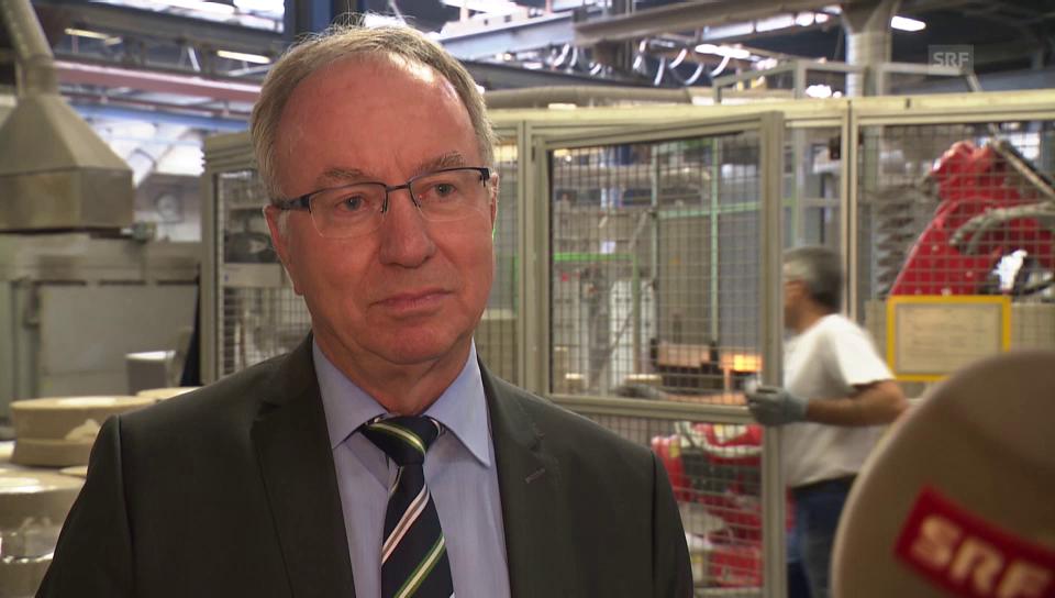 Markus Schmidhauser, Geschäftsführer Wolfensberger AG