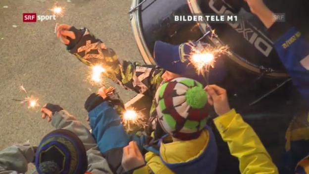 Video «Eishockey: Solidaritäts-Aktion für Ronny Keller» abspielen