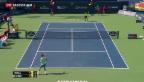 Video «Tennis: Federer unterliegt Tsonga» abspielen