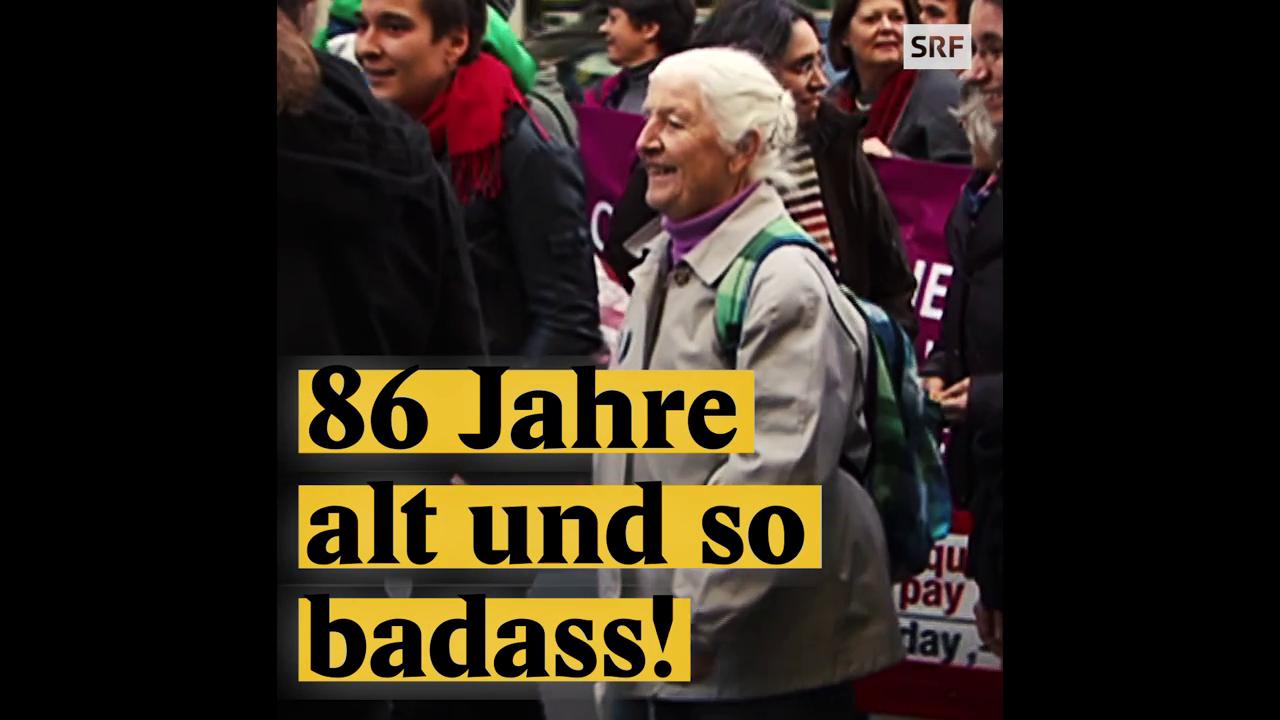 Louise Schneider: Die 86-jährige Aktivistin