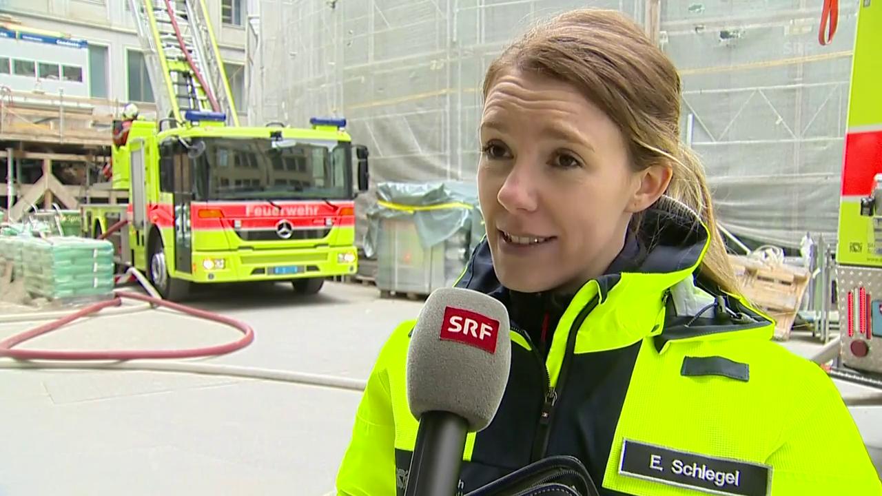 Das sagt Schutz und Rettung Zürich zum Brand
