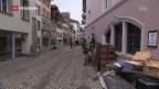 Video «Viel Arbeit nach dem Unwetter in Zofingen» abspielen