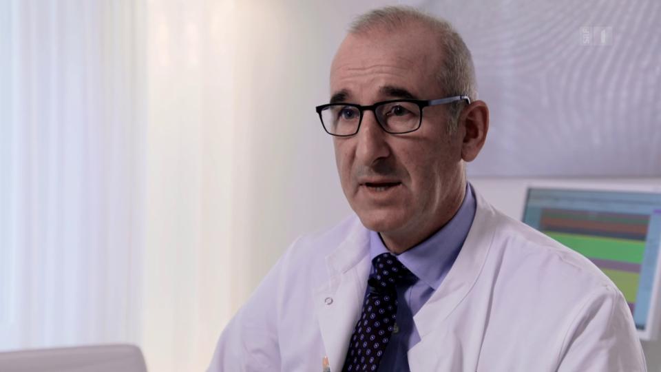 Plastischer Chirurg Dirk Johannes Schaefer: «Man braucht schon profunde anatomische Kenntnisse.»