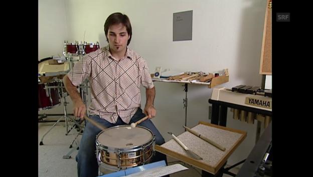 Video «Dossier Orchester: Profi am Schlagzeug (4/4)» abspielen