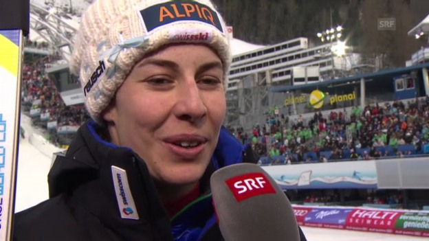 Video «Interview mit Dominique Gisin» abspielen