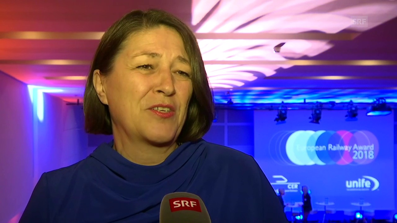 Viel Lob von EU-Verkehrskommissarin Violeta Bulc