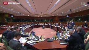 Video «Keine Einigung mit Griechenland» abspielen