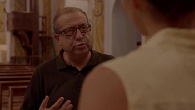 Video «Pfarrer Don Pino: «Die Mafia ist eine gesellschaftliche Sünde.»» abspielen