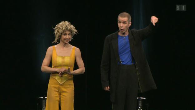 Video «Swiss Comedy: Ursus und Nadeschkin» abspielen